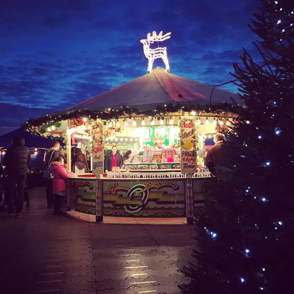 Christmas Themed Hook a Duck Round Stall Christmas Market Hire